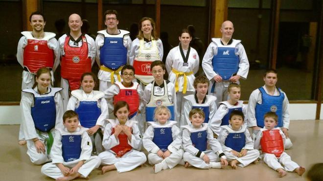 Taekwondo wallonie